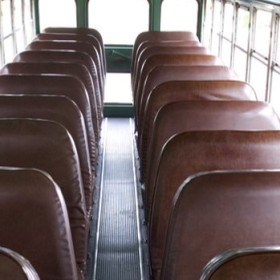 bus seats narrow