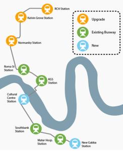 LNP map