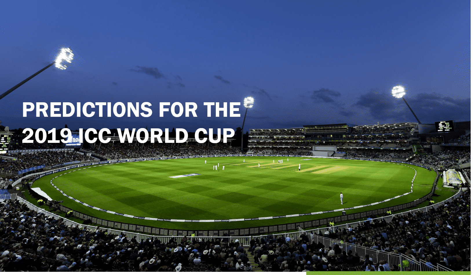 NineSquared's ICC World Cup Predictions
