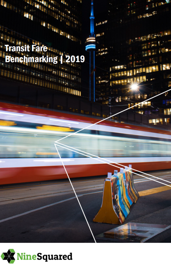 2019 Fare Benchmarking Report Cover