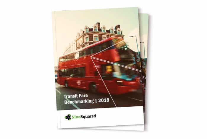 Transit Fare Benchmarking Report 2018